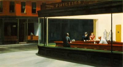 Nighthawks (Edward Hopper, 1942)